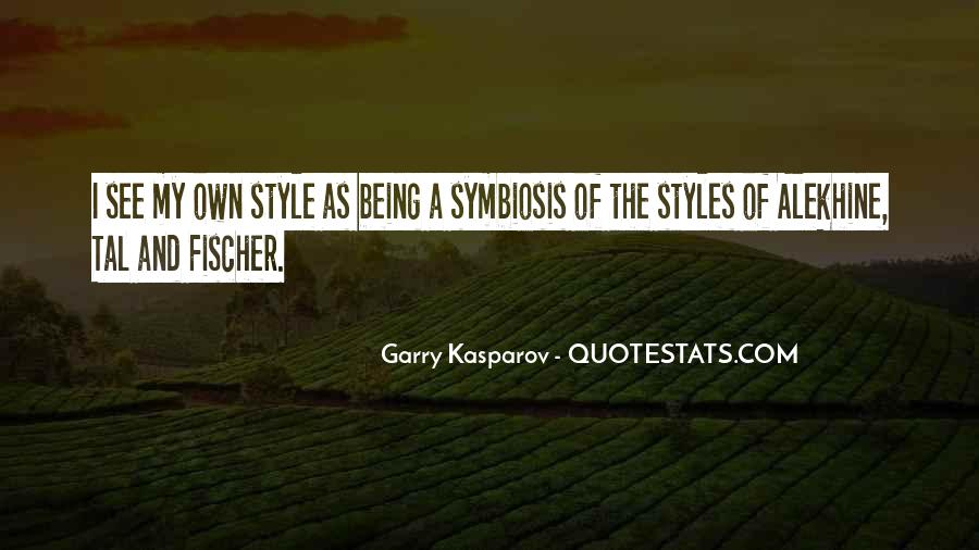 Quotes About Symbiosis #1235639