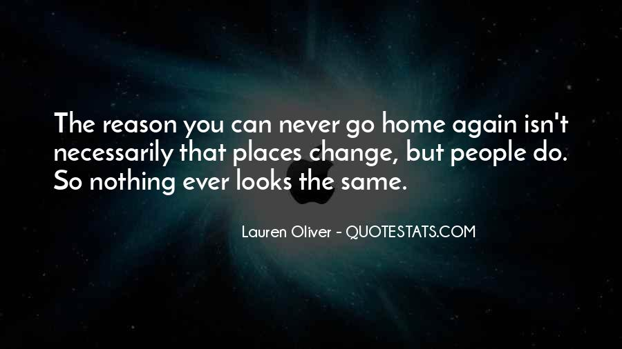 Quotes About Not Going Home Again #120845