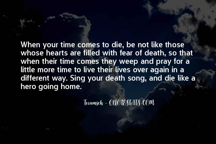 Quotes About Not Going Home Again #1646165