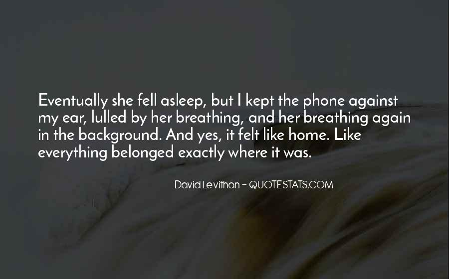 Quotes About Not Going Home Again #72009