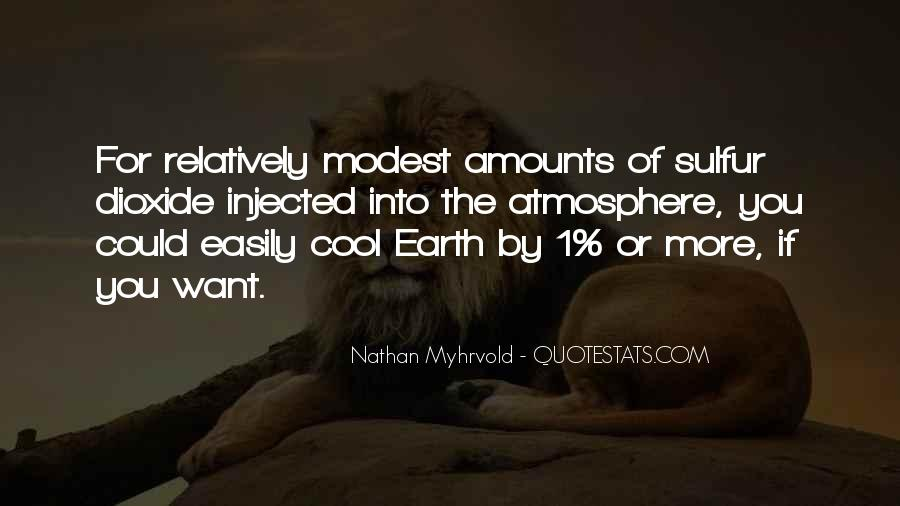 Quotes About Earth's Atmosphere #1113550