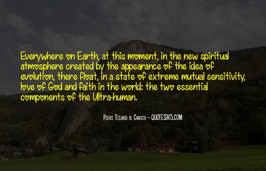 Quotes About Earth's Atmosphere #1747745