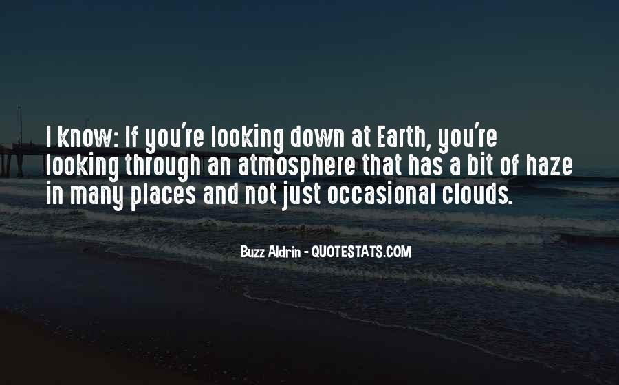 Quotes About Earth's Atmosphere #28038