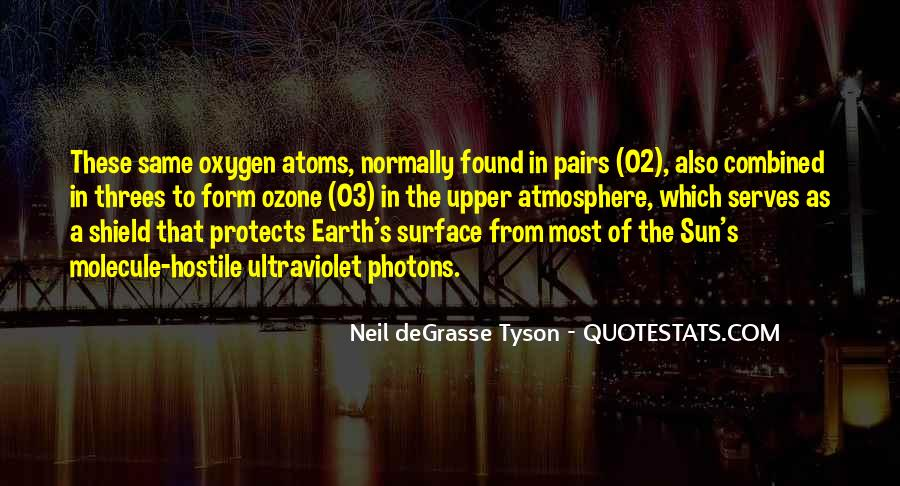 Quotes About Earth's Atmosphere #96699