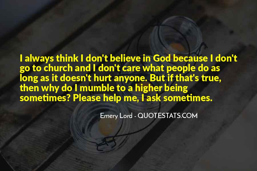 Quotes About Being Hurt By The Church #668717