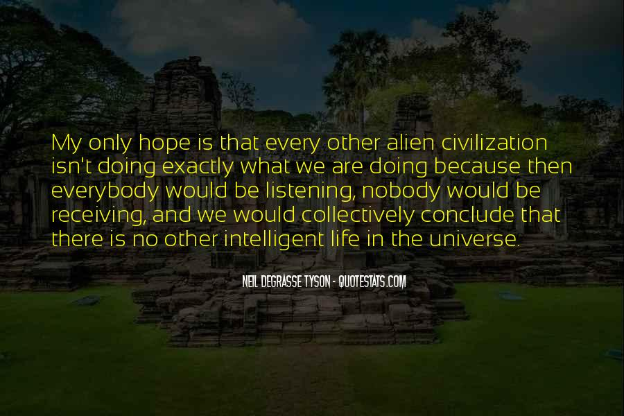 Quotes About Other Life In The Universe #399423