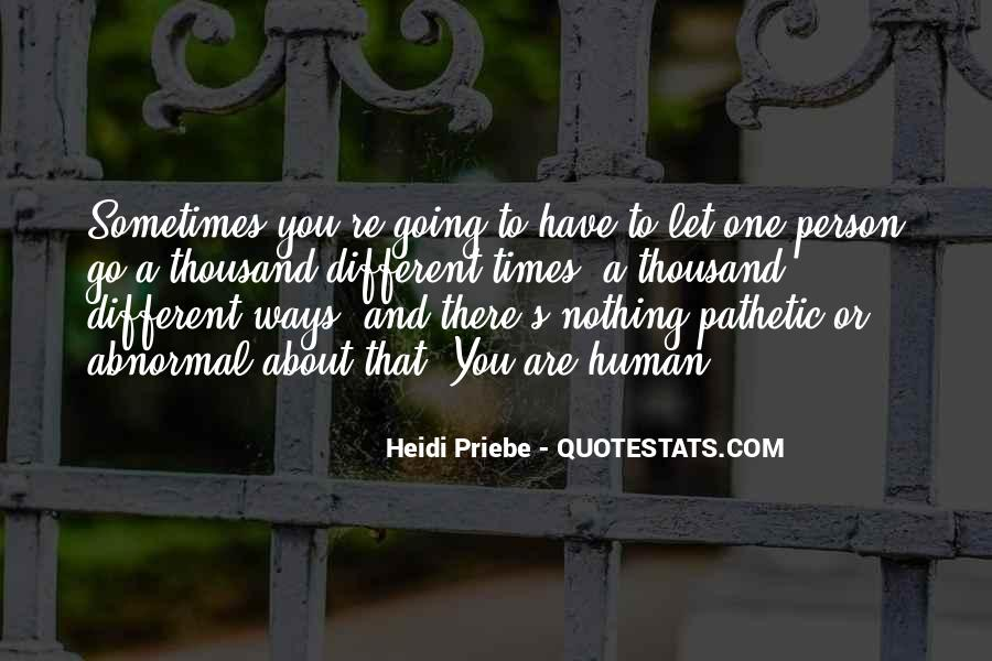 Quotes About A Pathetic Person #1687120