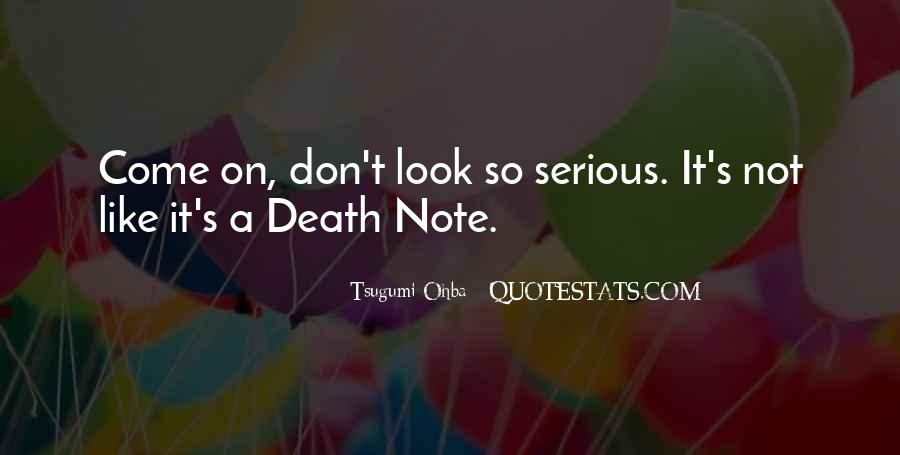 Quotes About Death Note #1446842