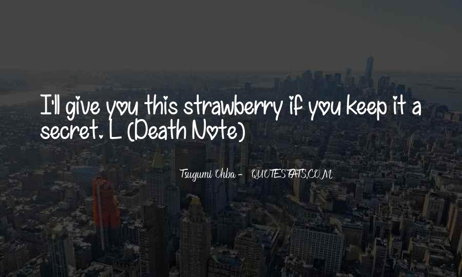 Quotes About Death Note #647728