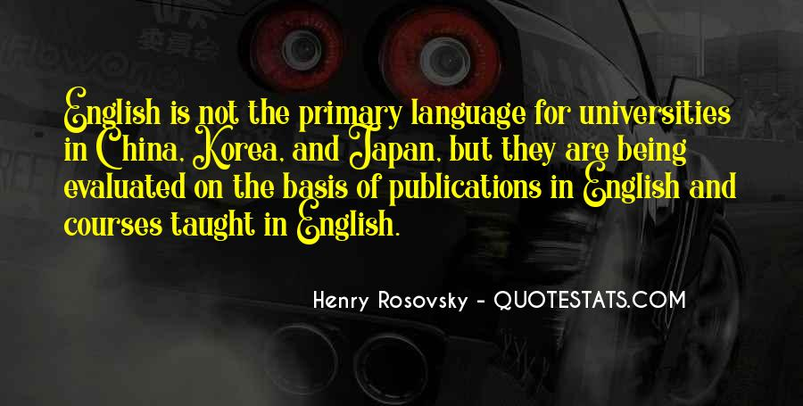 Quotes About English Courses #1397355