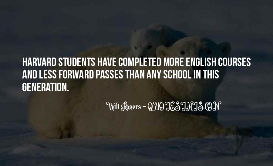 Quotes About English Courses #1419548