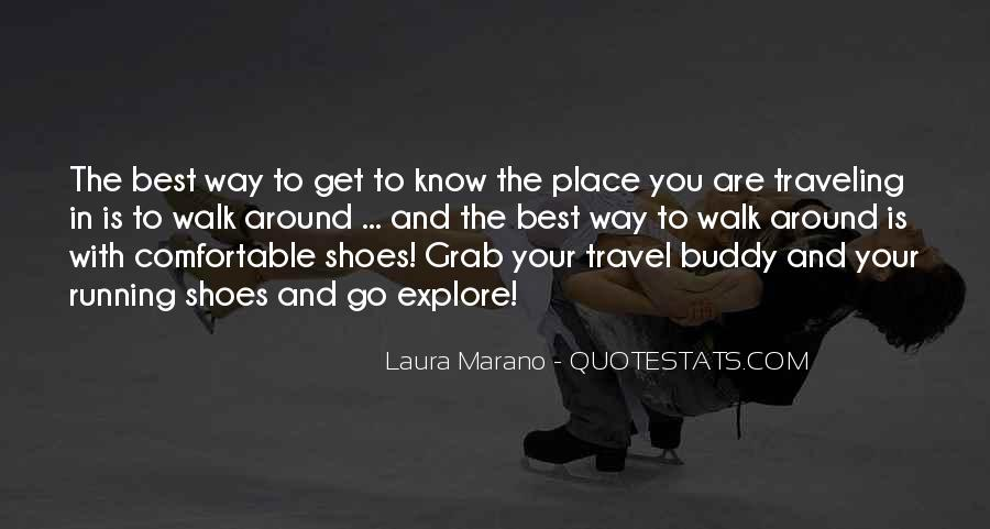Quotes About Running Shoes #1179226