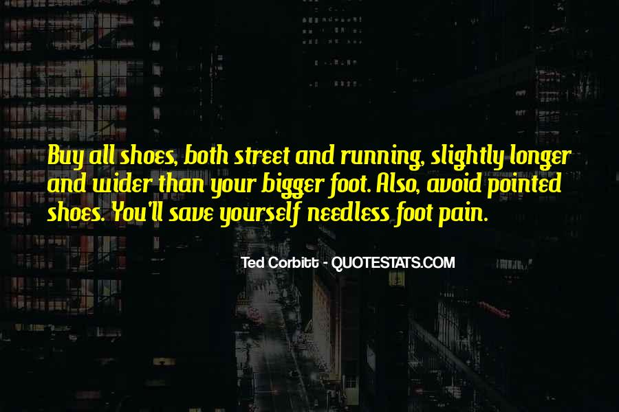 Quotes About Running Shoes #1490581