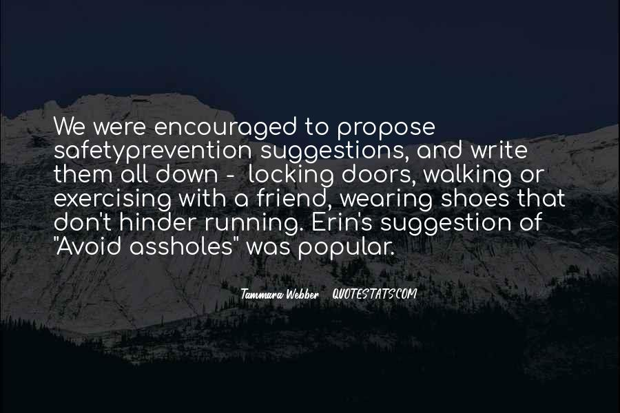 Quotes About Running Shoes #155222