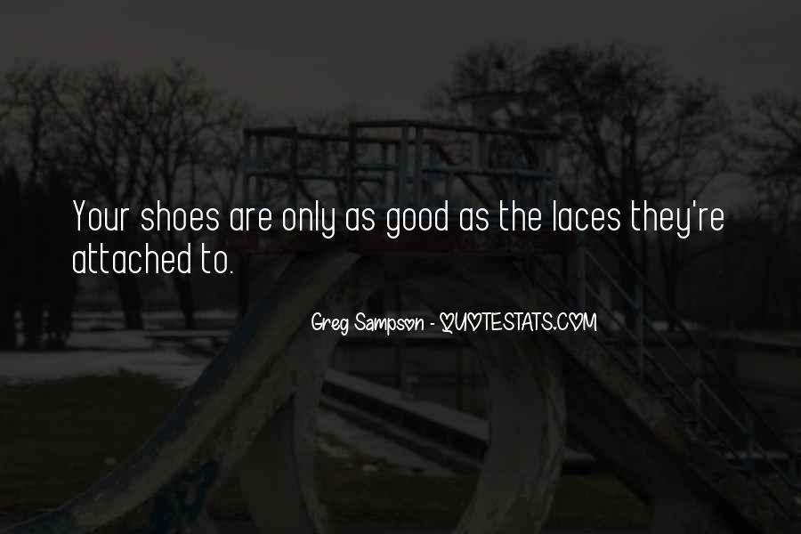 Quotes About Running Shoes #1812250