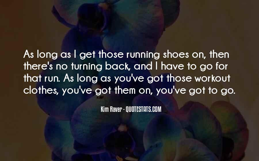 Quotes About Running Shoes #228020