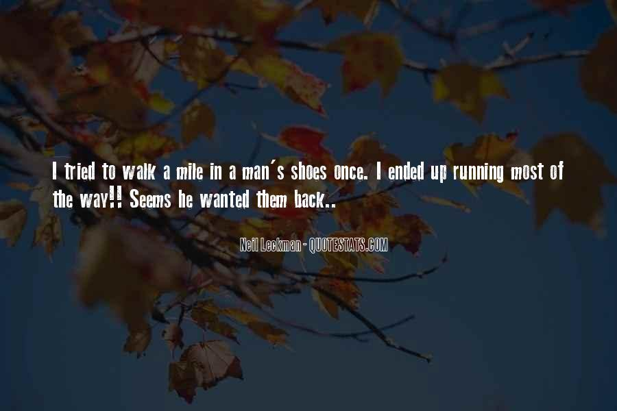 Quotes About Running Shoes #789896