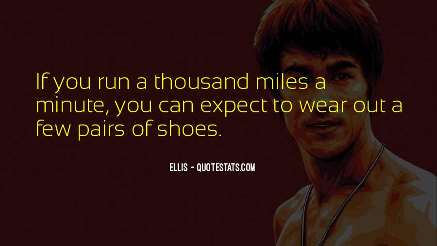 Quotes About Running Shoes #90539