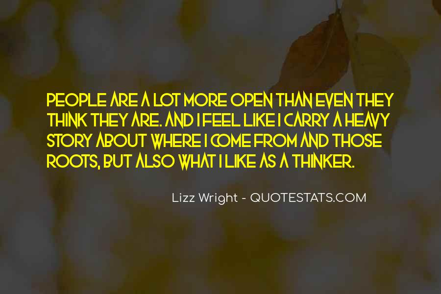 Quotes About Thinking #1119