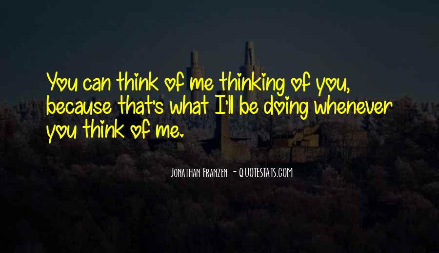 Quotes About Thinking #2267