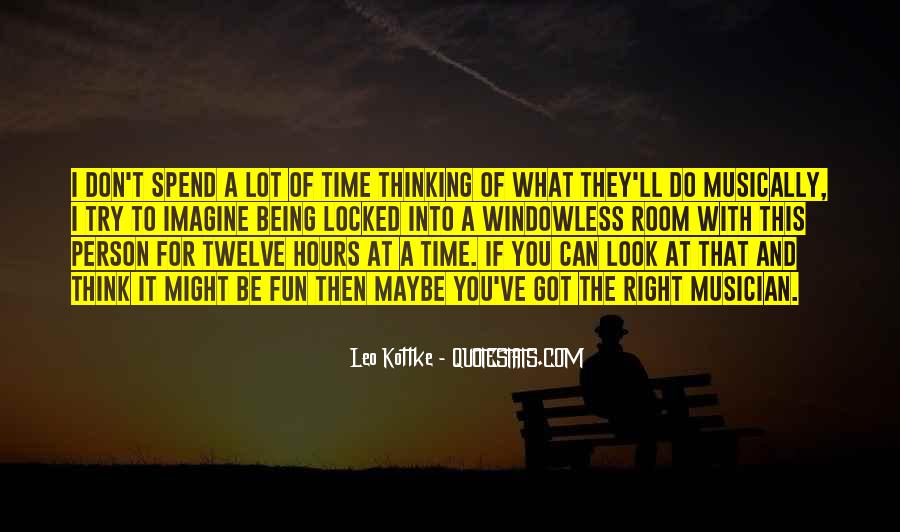 Quotes About Thinking #2451