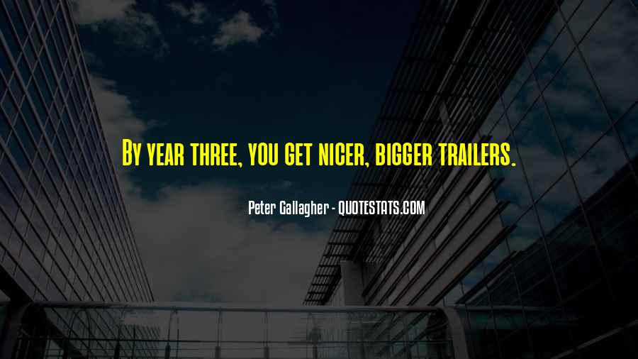 Quotes About Trailers #1114508