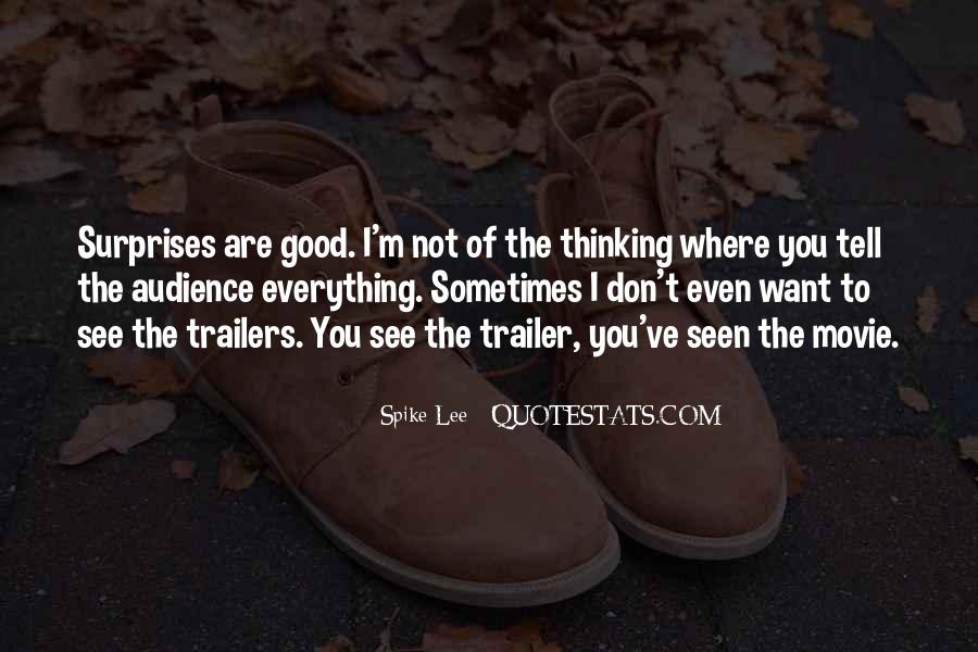Quotes About Trailers #1434323