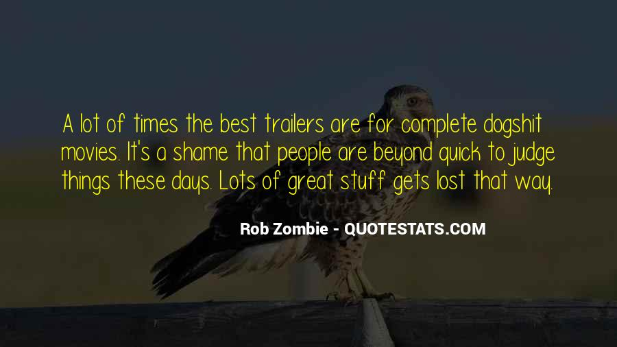 Quotes About Trailers #1607844