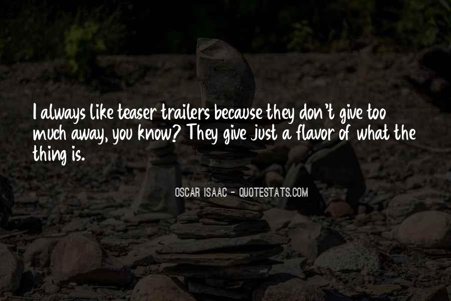 Quotes About Trailers #522931