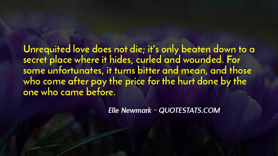 Quotes About Love After Hurt #1114311