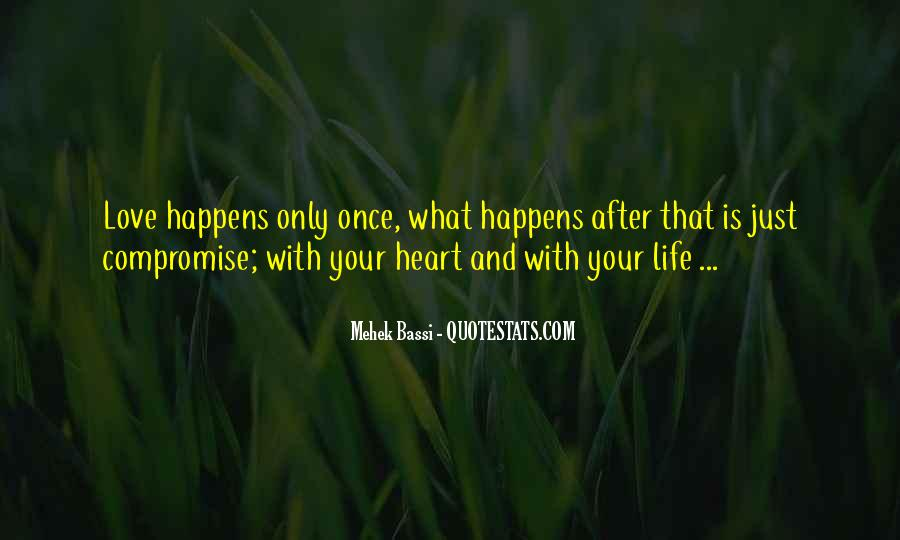 Quotes About Love After Hurt #301527
