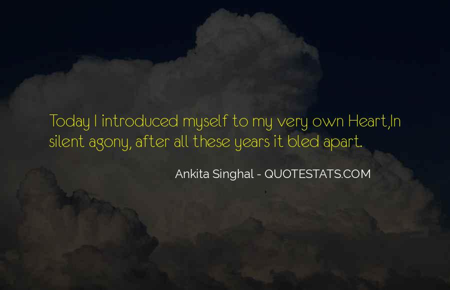 Quotes About Love After Hurt #809291