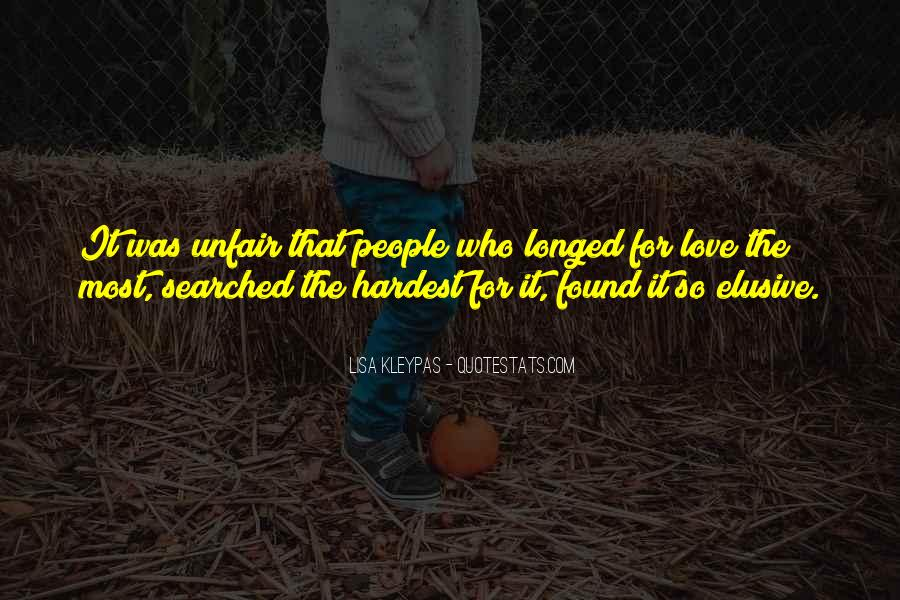 Quotes About Love Is So Unfair #1718745