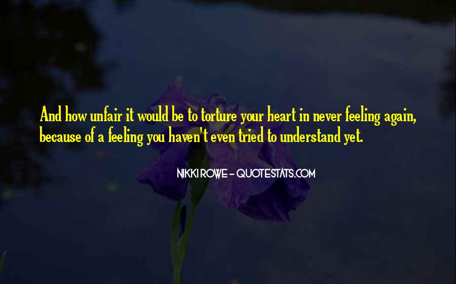 Quotes About Love Is So Unfair #678647