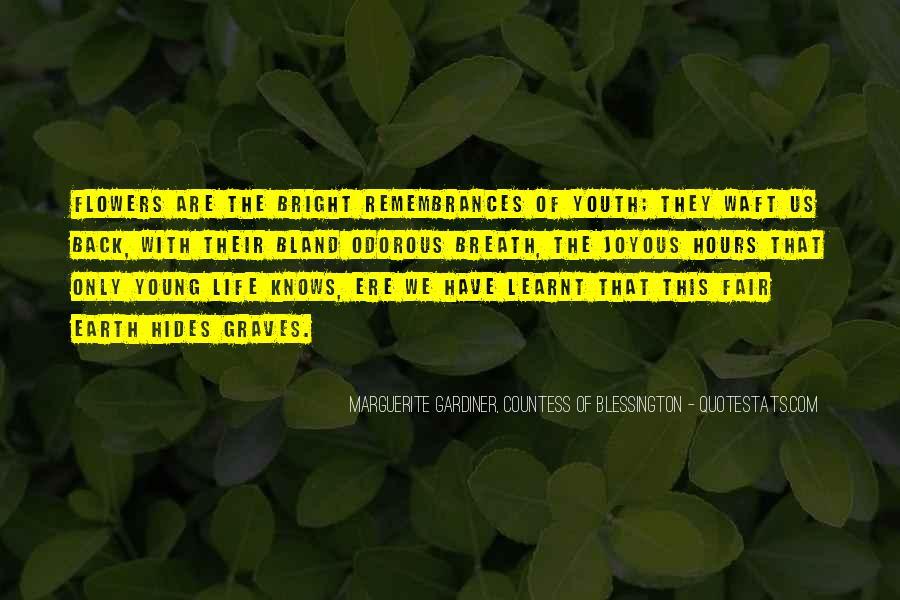 Quotes About Remembrances #1448194
