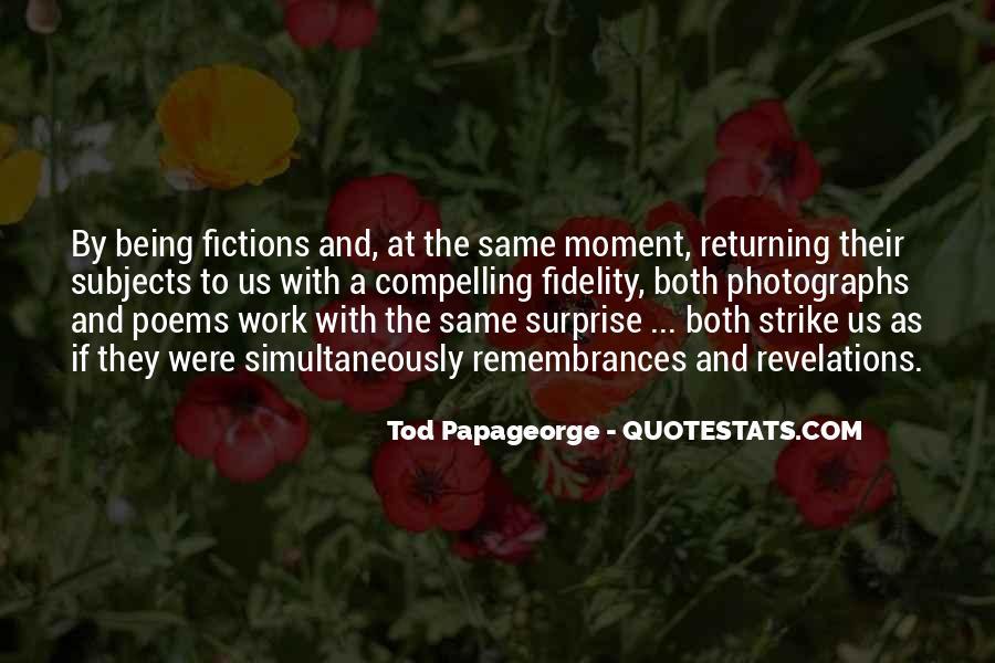 Quotes About Remembrances #643297