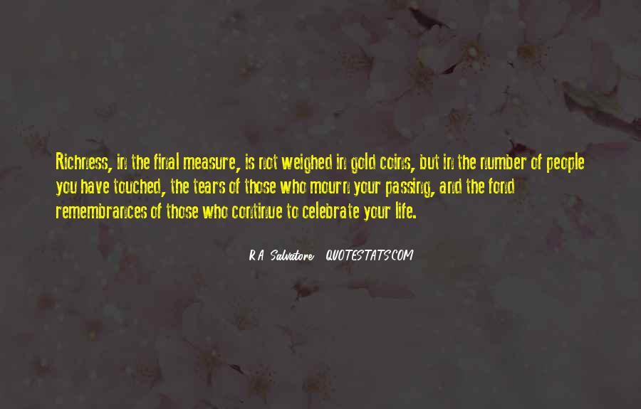 Quotes About Remembrances #649346