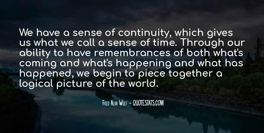 Quotes About Remembrances #850027