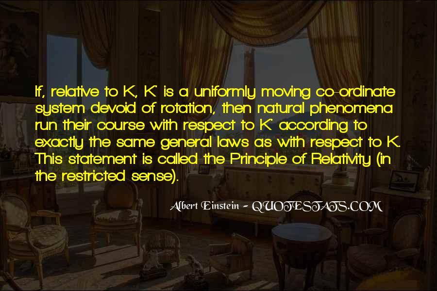 Quotes About General Relativity #1084827