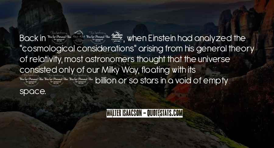 Quotes About General Relativity #1582574