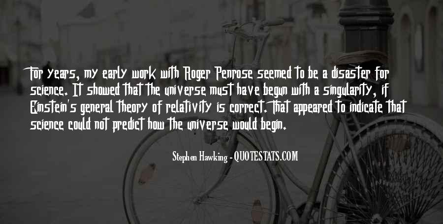 Quotes About General Relativity #1584858