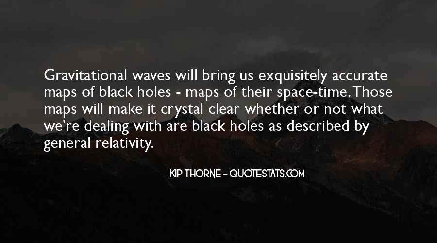 Quotes About General Relativity #1661634