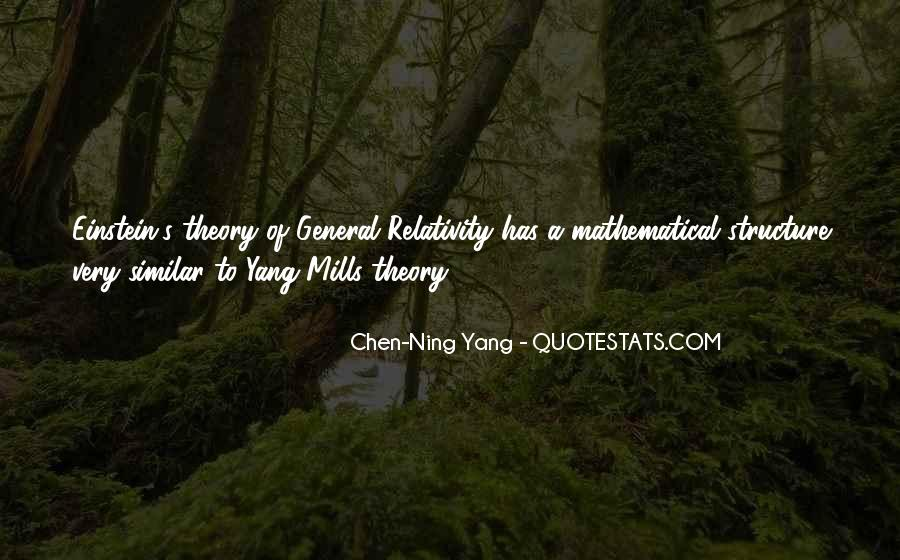 Quotes About General Relativity #307548