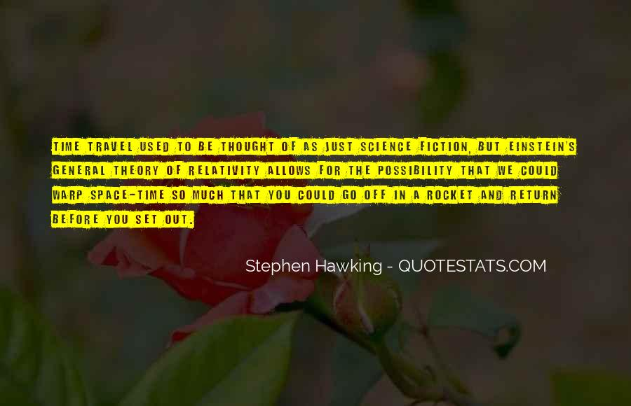 Quotes About General Relativity #415029