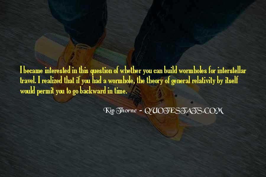 Quotes About General Relativity #489511