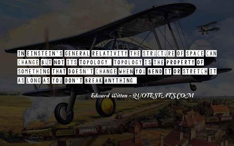 Quotes About General Relativity #493658