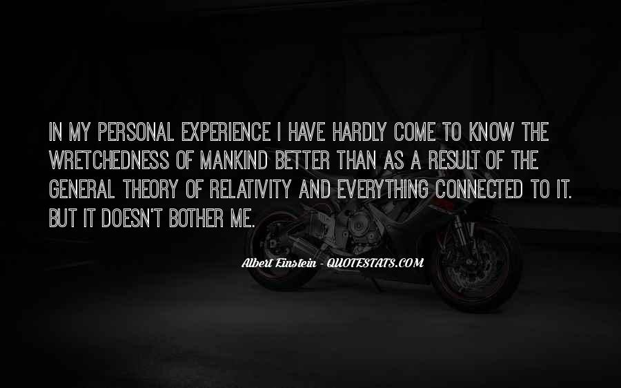 Quotes About General Relativity #663654