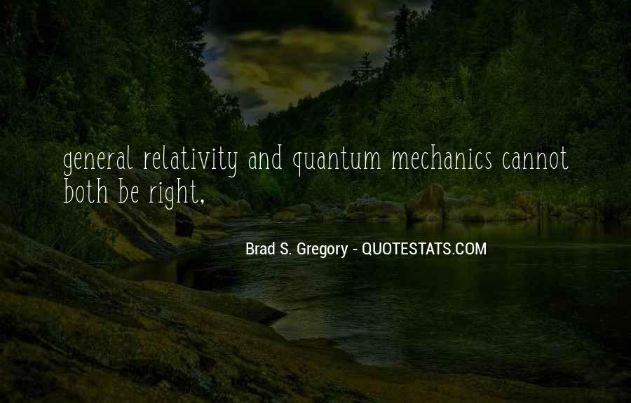 Quotes About General Relativity #820922