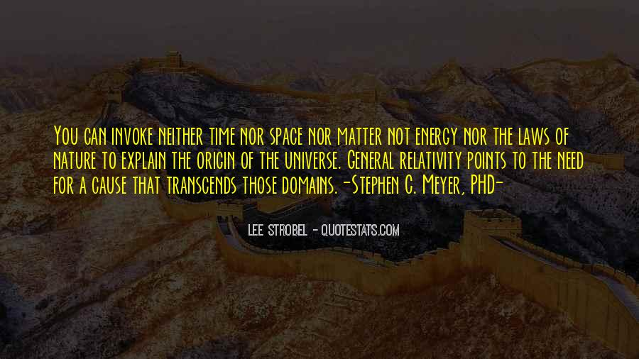 Quotes About General Relativity #916945