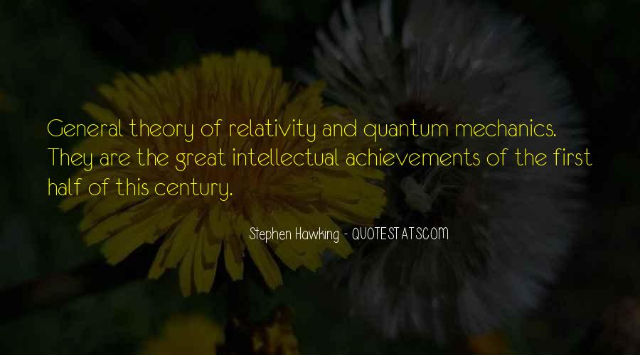 Quotes About General Relativity #979567